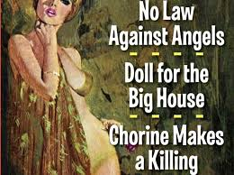 No Law Against Angels, Doll for a Big House, and Chlorine Makes a Killing by Carter Brown
