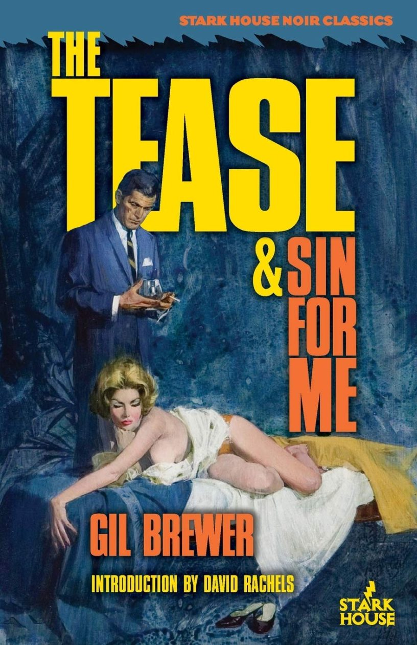 The Tease and Sin For Me by Gil Brewer